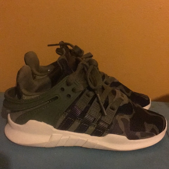 c6b898fafcd0 adidas Other - Toddler Adidas EQT camo size 11 toddler